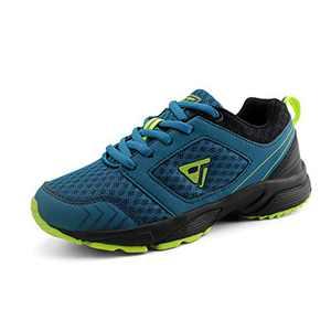 JABASIC Kids Running Tennis Shoes Lightweight Casual Walking Sneakers (6,Blue)