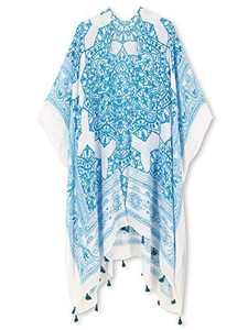 Spicy Sandia Swimsuit Cover ups for Women Open-Front Kimono Cardigan with Vintage Print