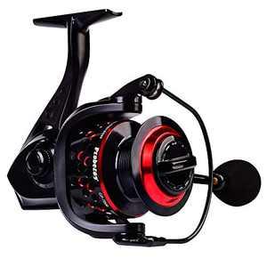 PROBEROS Spinning Fishing Reel - Stainless Steel BB Carbon Fiber Drag Aluminum Spool Spinning Reels for Saltwater Freshwater Fishing