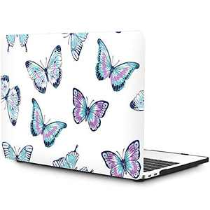 """OneGET MacBook Pro 16 inch Case(2019 Release A2141), Painting Flower Pattern Hard Case with TPU Keyboard Skin & HD Screen Protector, Fit for New MacBook Pro 16"""" with Touch Bar (F64)"""