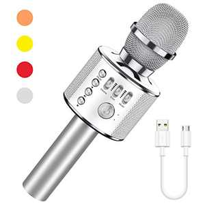 LET'S GO! Gifts for 5-12 Year Old Girls, Karaoke Microphone for Kids Wireless Karaoke Machine for Girls Age 3-12 Fun Toys Birthday for 3-14 Year Old Girls