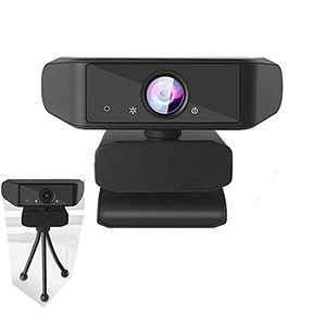Webcam with Microphone for Desktop,Auto Focus,Noise Reduction,Wide Angle, 1080P HD Webcam USB Web Camera for Video Streaming,Conference,Gaming,Online Classes,Recording,Video Calling