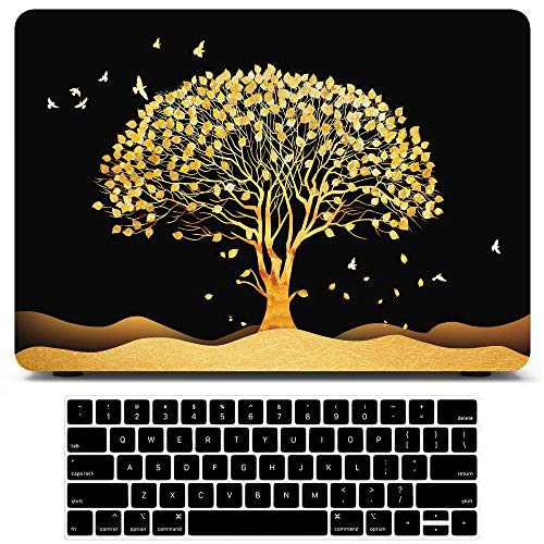 AKIT Compatible with MacBook Air 13 Inch Case 2020 2021 2019 2018 Release A2337 M1 A2179 A1932 Touch ID Retina Display, MacBook Air Case Cover Laptop Mac Book Plastic Hard Shell + Keyboard Cover Skin