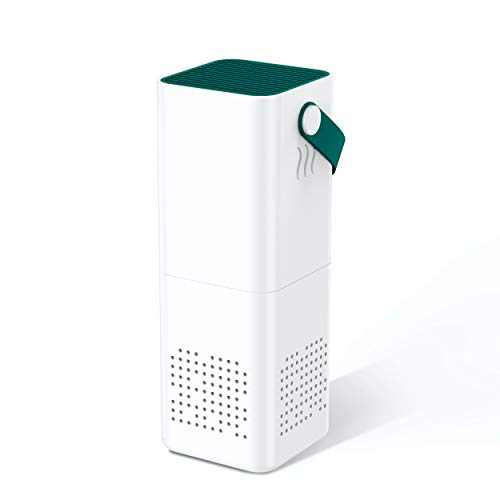 THE THREE MUSKETEERS III M Car Air Purifier with HEPA Filter (USB Charge DC 5V), Air Purifier for Car as Air Cleaner with Activated Carbon Freshener.