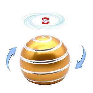 samisoler Kinetic Desk Stress with Full Body Optical Illusion Ball