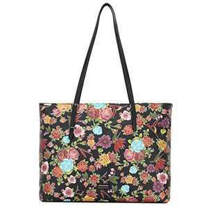 Women Shoulder Handbag Purse Top-Handle Hobo Roomy Casua Ladies' Shoulder Bag Fashion PU Tote Satchel Bag for Wome (K.EYRE#KL2266#33-404#7/F325#1BLACK/BLACK)