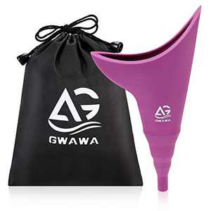 GWAWA Female Urination Device, Portable Silicone Female Urinal, Reusable Women Pee Funnel for Women Standing Up to Pee, Perfect for Travel Outdoor and Travel