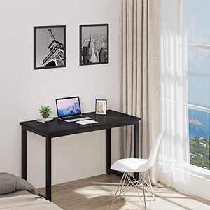 YITAHOME Home Office 47-Inch Computer Desk Simple, Black (47'', Black)