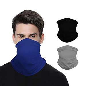 UV Protection Neck Gaiter Face Cover Bandanas, Cooling Face Scarf Headband for Outdoors Dust