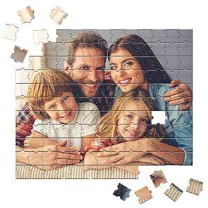 Personalized Jigsaw Puzzle for Adults 300 Pieces Custom Wooden Jigsaw Puzzle,Upload Your own Image,Gifts for famiy Friends