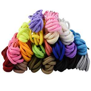 """Marrywindix 20 Pairs 39"""" RoundColourful Athletic Shoe Laces for Sneakers Skate Shoes Boots Sport Shoes (20 colors)"""