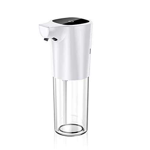 TONPVOU Soap Dispenser Touchless Foaming Soap Dispenser 275ml Electric Automatic Foam Soap Dispensing Infrared Sensor Liquid Dish Dispenser Hand Free Soap Pump for Bathroom Kitchen Office
