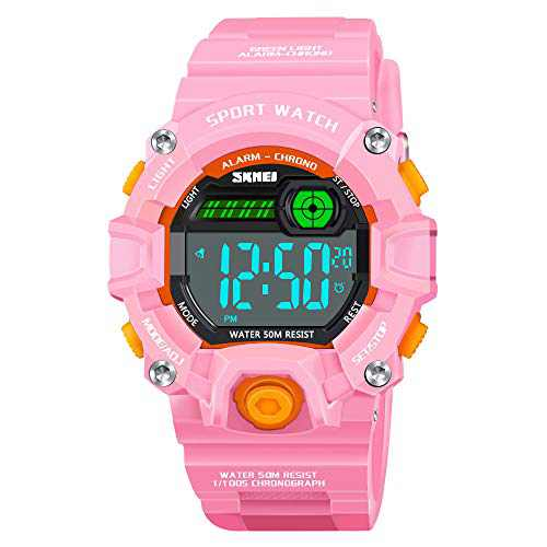 Gifts for 5-12 Year Old Teen Girls, ATOPDREAM 50M Waterproof Outdoor Sport Digital Watches for 5-12 Year Old Kids Boys Girls Toys Age 5-12 Birthday Gift Toys for 5-12 Year Old Teen Girls