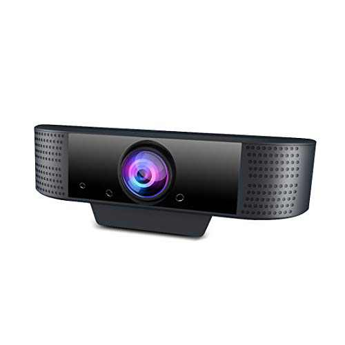 Web Cameras for Computers -1080P HD Streaming Webcam with Microphone for Desktop,USB Face Web Cam with Privacy Cover&Tripod for PC/Laptop,Pro Gaming Webcam for YouTube,Skype,Zoom,Xbox One,TV