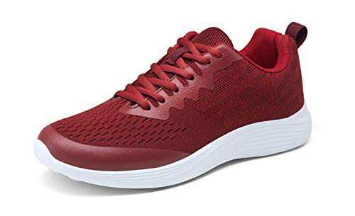 VEPOSE Women's 08 Running Shoes Tennis Sneakers Sports Athletic Gym Walking Mesh-Comfortable Red Size 7(CJY608 red 07)