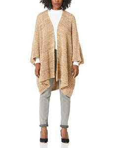 Beautiful Nomad Open Front Cardigans Classic Sweaters for Women Grey and Yellow