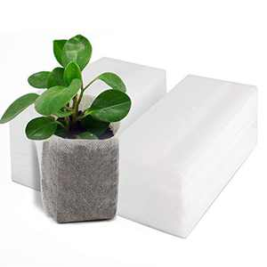 100PCS Plant Nursery Bags, EnPoint 6x6 inches Non-Woven Fabric Flower Tree Seed Starters, Garden Plants Seedling Grow Pouch Pots
