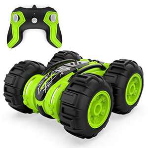 ANTAPRCIS 2 in 1 RC Water Stunt Car, 4WD Amphibious Remote Control Car Toy Birthday Gift for 6-12 Year Old Kids
