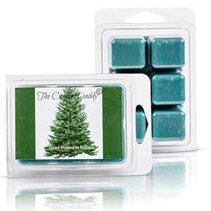 The Candle Daddy Pine Tree - Blue Spruce -Pine -Chritmas Tree Scented Wax Melt - 2 Ounces - 6 Cubes - 1 Pack