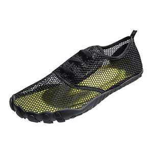 Mens Women Water Sport Shoes Barefoot Quick-Dry Aqua Socks for Beach Swim Surf Yoga Exercise, 15.5 M US Women / 14 M US Men