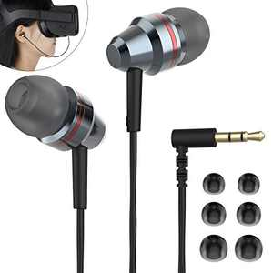 KIWIHOME Earbuds in-Ear Headphones Custom Made for Oculus Quest VR Headset (3D 360 Degree Sound–Noise Suppressing) Left/Right Single Sound Channel (Not for Quest 2)