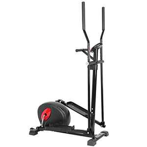 winwintom Magnetic Elliptical Machine, Heavy Duty Exercise Equipment Cardio Training Workout, Trainer Smooth Quiet Driven for Home Gym Exercise (63.38X16.53X34.64in)