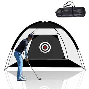 Keren Golf Net, Golf Hitting Nets Training Aids Golf Practice Nets for Backyard Driving Range, Golf Chipping Net with Target Carry Bag for Indoor Outdoor Sports