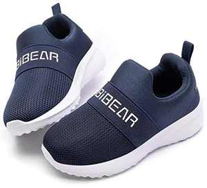 WOUEOI Kid Boys Girls Shoes Running Sports Sneakers Toddler/Little (Blue 2 Little_Kid)