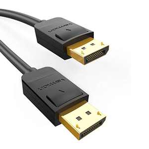 VENTION DisplayPort to DisplayPort Cable,DP to DP Male to Male Cable(DP 1.2),Supports 4K Resolution @60Hz with Audio Video Compatible for PC Graphic Card to HDTV/Monitor (1m)