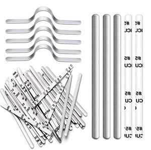 Nose Bridge Strips for Mask, Aluminum Metal Nose Strip, Adjustable Nose Clips Wire for DIY Face Mask Making Accessories for Sewing Crafts,300Pcs