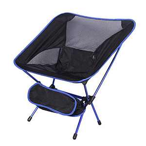 Outdoor Ultralight Portable Folding Chairs with Carry Bag Heavy Duty 250lbs Capacity Camping Folding Chairs for Outdoor Camp, Travel, Beach, Picnic, Festival, Hiking