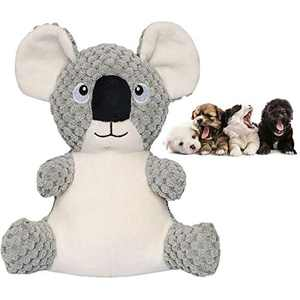 Growom Small Koala,Pet Squeaky Toys,Dog Interactive Plush Rope Knots Toys Chew Toys Chewing and Durable Toys for Puppy Dogs and Medium Dogs