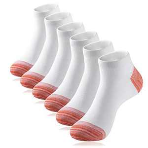 IEOVIEE Low Cut Short Socks Casual Socks Athletic Running Ankle Socks Size 7-12 (6 Pairs)