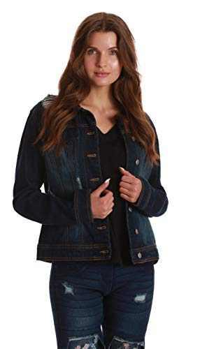 Just Love Denim Jackets for Women 6879-DKDEN-XXL