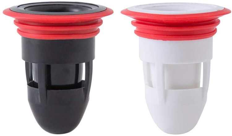 VOSAREA 2PCS Shower Floor Drain Backflow Preventer Sewer Core Anti-Odor Plug for Kitchen Bathroom