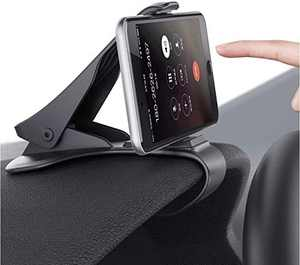 Car Phone Mount, MANORDS Durable Dashboard Car Phone Clip Holder Compatible for iPhone Xs Max R 8 Plus 7 Samsung Galaxy S10 E S9 S8 Plus Edge Note 9 and More