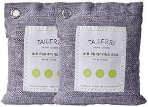 Bamboo Charcoal Air Purifying Bag, Moisture Absorber, Eco Friendly Car Air Purifier, Shoes Deodorizer, Closet Freshener (100 * 2)