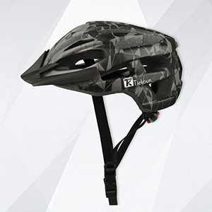 Tiekoun Safety Breathable Lightweight Bike Cycling Helmet, Camouflage, L