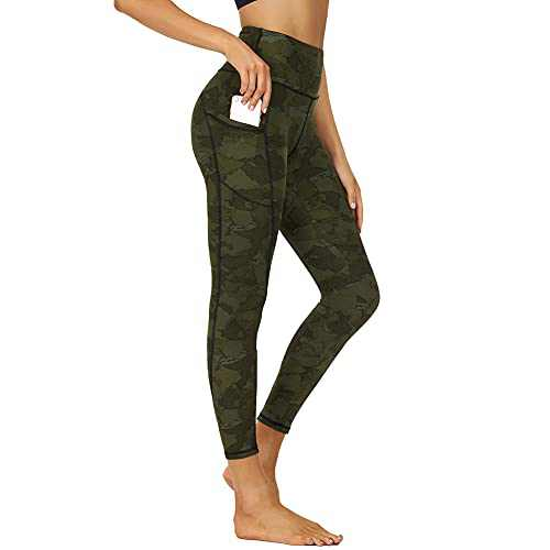 Yoga Pants for Women - High Waisted Leggings with Pockets Butt Lift Tights for Workout Sports Athletic
