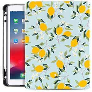 Lokigo New iPad 10.2 Case 2020 iPad 8th Generation Case/2019 iPad 7th Generation Case, iPad Air 10.5 Premium Leather Cover with Built-in Apple Pencil Holder - Auto Wake/Sleep Precise Cutouts