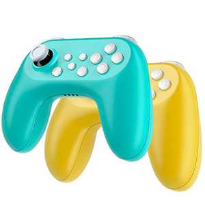 Zacro Wireless Switch Controller for Nintendo - Gamepad Built-in Rechargeable Battery, Remote Joystick for Nintendo Switch Console Suitable for Multiplayer Games, 2 Pcs