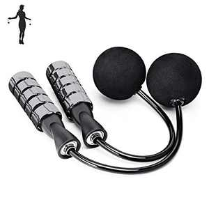 APLUGTEK Jump Rope, Training Ropeless Skipping Rope for Fitness, Adjustable Weighted Cordless Jump Rope for Men Women Kids