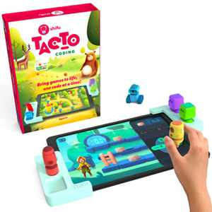 Tacto Coding by PlayShifu (app based) - Story-based Visual Coding Adventure | Coding Games for Kids | STEM Puzzles | Logic Games | Educational Gifts for Boys and Girls Age 4 - 10 (tablet not included)