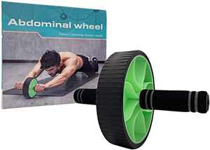 FLYFE Ab Roller for Abs Workout - Ab Roller Wheel for Home Gym Workout - Abdominal Exercise Equipment for Core Strength Training and Stomach Tone