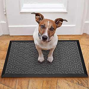 """Outdoor Doormats Front Door Mat 30"""" x 17"""" Garage Door Mat with Non Slip Rubber Backing, Floor Rug Entryway Outside Doormat for Pet Indoor Outdoor Entrance Patio Lawn Garden High Traffic Area"""