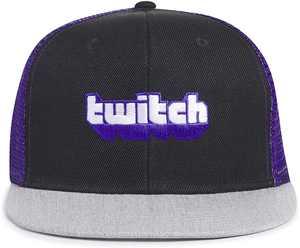 Twitch 3 Panel Trucker Hat