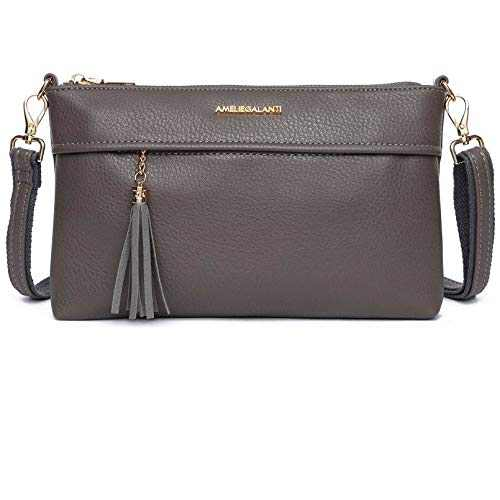 Small Crossbody Purse Shoulder Bag for Women D.Grey