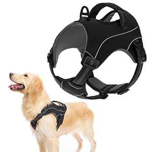 KOOLTAIL Dog Vest Harness Adjustable Pet Vest Harness Padded Reflective Breathable Dog Harness for Large Size Dog