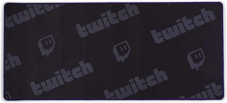 Twitch XL Gaming Desk Pad - All Over Twitch