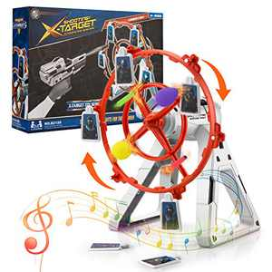Bldaxn Shooting Target for Nerf More Challenging Electronic Targets, Ideal Gift Toy for Kids Boys & Girls Shooting Practice for Nerf Targets Outdoor Indoor Toy